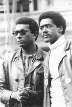 Bobby Seale And Huey Newton Bobby Seale was born on this