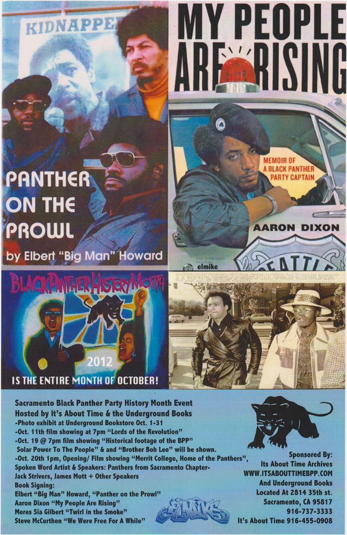 Sacramento Black Panther Party History Month event