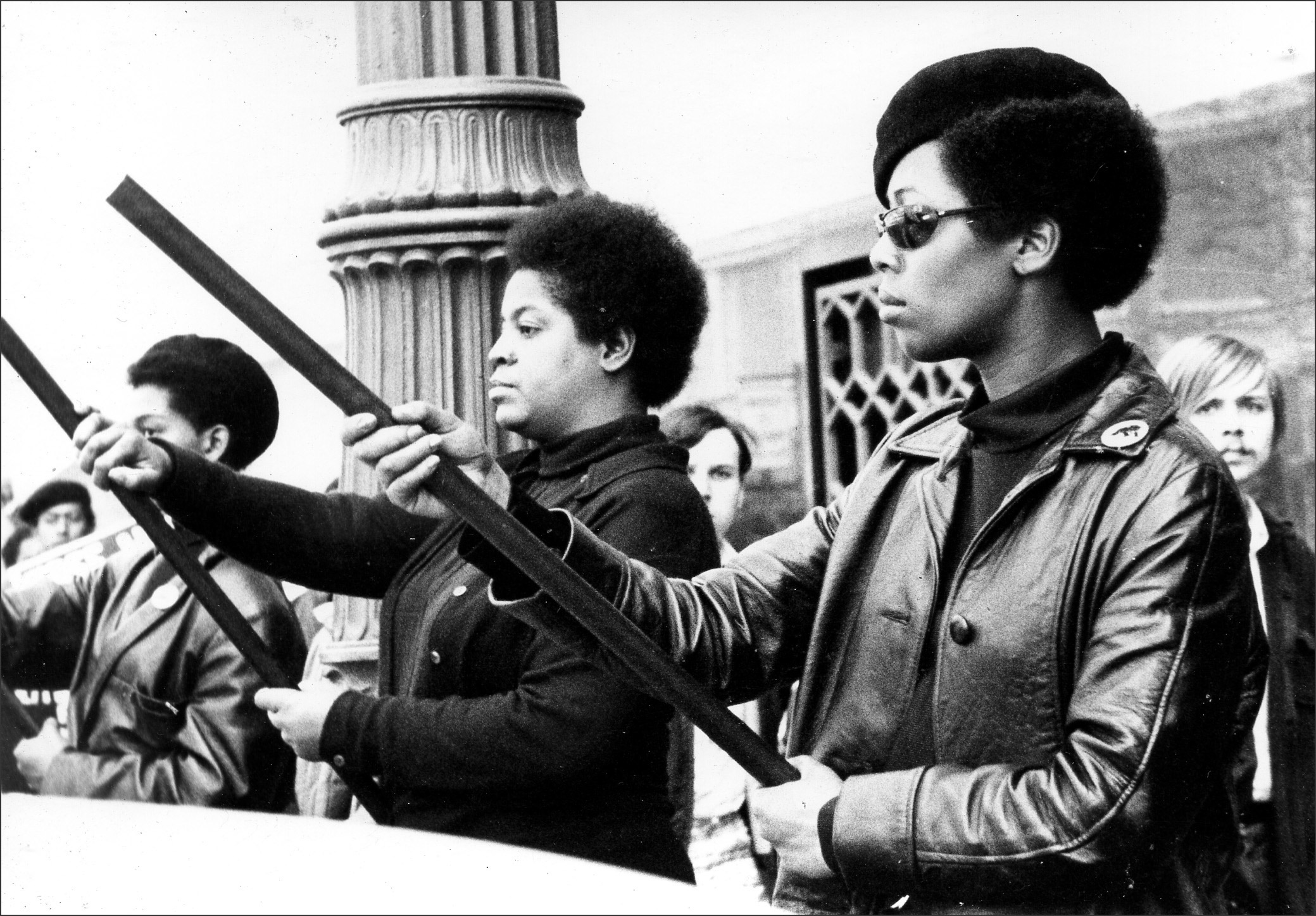 a history of the black panther party The black panther party for self defense was formed to protect black individuals and neighborhoods from police brutality this 1966 photo features the six original.