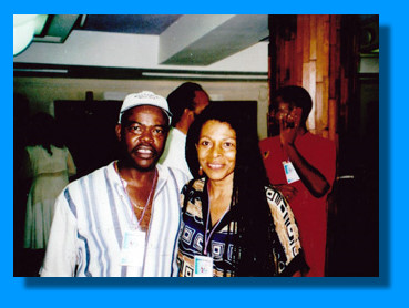 1. Billy X and Assata in Cuba -- 2. Hands of Assata